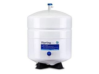 iSpring T32M Pressurized Water Storage Tank with Ball Valve for Reverse Osmosis RO Systems  4 Gallon  1 4  Tank Valve Included
