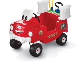 little Tikes Spray   Rescue Fire Truck Ride On