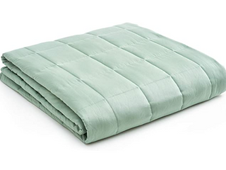 YNM Home   Weighted Blanket  Sea Green   60  x 80