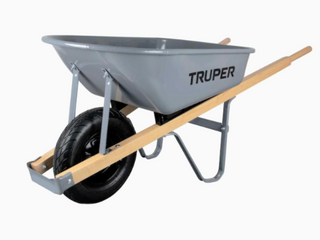Tire is flat  5 5 Cu  Ft  Steel Tray For Wheelbarrow Garden Planting landscaping lifting Tool