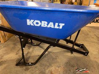 Missing Tire   Axle KOBAlT 7cu ft Heavy Duty Wheelbarrow