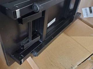 Computer Desk Folding Table Dark Wood Finish 31 5