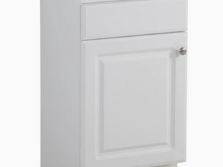 Bathroom Sink Single Project Source 18 6 in White Vanity With White Cultured Marble