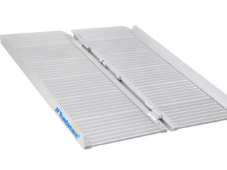 Ruedamann Threshold Ramp for Home Steps Stairs Doorways Mobility Scooter  Folding Ramp for Wheelchair