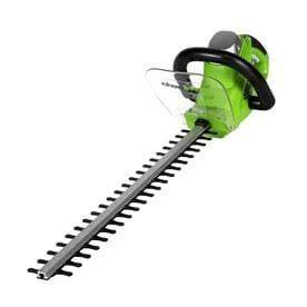 Hedge Trimmer GreenWorks  Electric lime