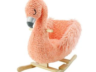 Soft landing Flamingo Rocker