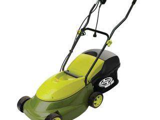 lawn Mower  Sun Joe Pro Series Electric lawn Mower  14 Inch  13 Amp  Green