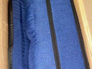 Folding Floor Chair Blue FC001Blu
