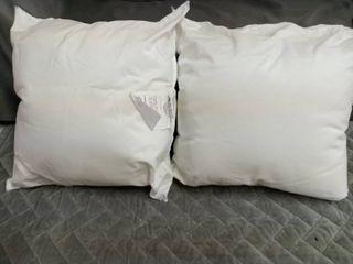 2 miniature Memory Foam Pillows