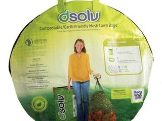 DSolv 1003 lawn leaf Disposal Bag Starter Kit
