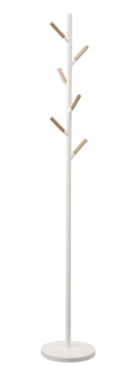 Yamazaki Pole Hanger White