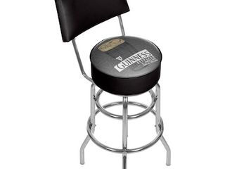 Guinness Swivel Bar Stool with Back  Retail 149 99