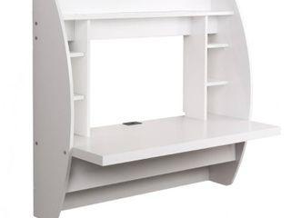 Prepac Floating Desk with Storage  Retail 166 49