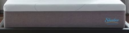 Slumber Solutions 14 inch Gel Memory Foam Choose Your Comfort Mattress   White Retail 481 49