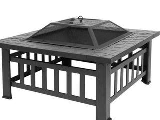 32 inch Metal Portable Courtyard Fire Pit Retail 124 99