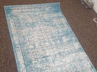 Contemporary Transitional Area Rug  3ft
