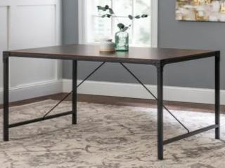 Carbon loft Edelman 48 inch Angle Iron Dining Table  Retail 156 49