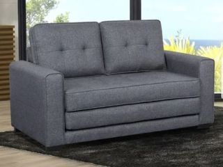 Daisy Modern Fabric loveseat and Sofa Bed  Retail 409 99