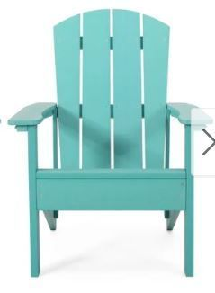 Culver Outdoor Adirondack Chair by Christopher Knight Home  Retail 329 99