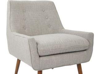 Carson Carrington Balestrand Mid century Tufted Arm Chair