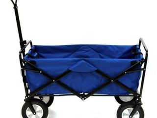 Folding Wagon  Expanded Model    Blue Retail 111 99