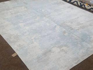 Denali Contemporary Handmade Runner Area Rug 10 1  x 8 1