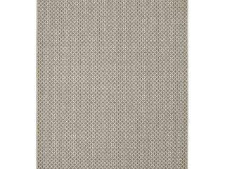Boucle Weave Rug  Grey  5X7 5 Ft