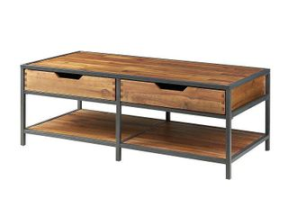 Madison Park Ryker Natural  Graphite Coffee Table Retail 295 00