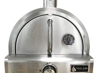 Mont Alpi Silver Stainless Steel Portable Pizza Oven  Retail 296 99