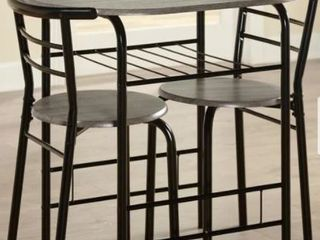 Porch   Den Barclay 3 piece Bistro Set Retail 104 99