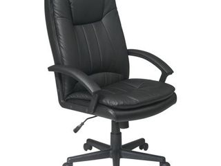 High Back Executive Eco leather Chair  Black