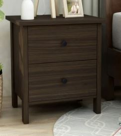Furniture of America Marcello Wood Contemporary Nightstand  Retail 113 52