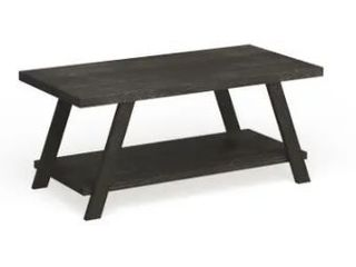 The Gray Barn Cedar Ridge Contemporary Replicated Wood Shelf Coffee Table  Retail 144 49