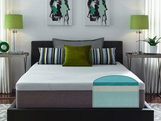 Slumber Solutions 14 inch Gel Memory Foam Choose Your Comfort Mattress California King Size White  Retail 589 99