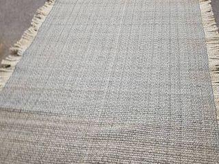 March Jute Sisal Natural Fiber Flatweave Area Rug  Retail 172 49