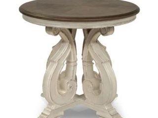 Furniture of America Roah Transitional Dark Oak Solid Wood End Table Retail 361 49