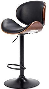 Mid century Modern Height adjustable Swiveling Bar Stool  Retail 91 99