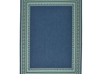 Remington Indoor  Outdoor Border Area Rug by Christopher Knight Home  Retail 176 49