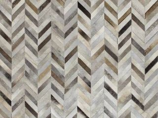 Albion Contemporary Hand Stitched Area Rug  Retail 885 49