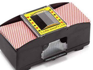 2 WElCOME CASINO 2 DECK AUTOMATIC CARD SHUFFlER