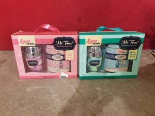 2 SETS OF lUXE BY MR  BUBBlE BATH SETS