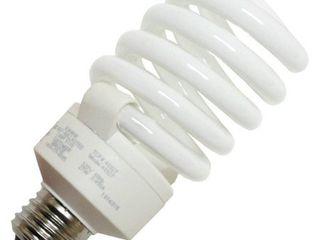 12 bulbs TCP 48927 Frosted Tcp 48927 Single Spiral 27 Watt 5 7  Tall 2700K Cfl Spiral Bulb