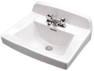Gerber Plumbing 12654 Monticello Wall Hung Bathroom 20 In  X 18 In