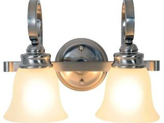 2 light fixtures Sanibel Vanity light Fixture  Maximum Two 60 Watt Incandescent Medium