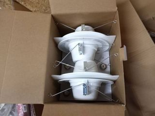 Commercial lighting 4 pack 5 and 6 in  White recessed lED trim three boxes of four