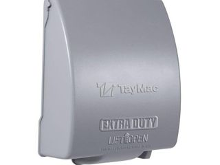 Hubbell MX7280S Weatherproof Metallic low Profile