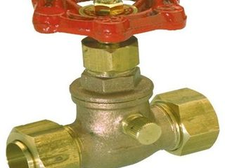 lot of 5 Stop   Waste Valve 3 4 In  Comp  lead Free