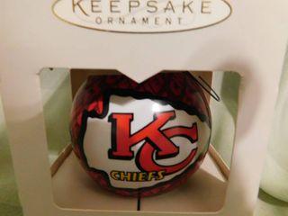 Hallmark KC Chiefs Ornament