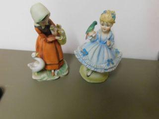 lefton Figurine   little Girl