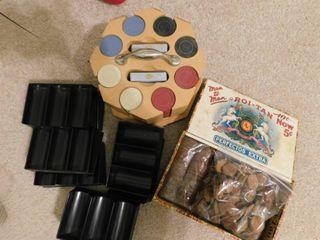 Vintage Poker Items